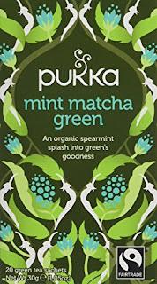 Pukka Organic Mint Matcha Green 20 Teabags Pack of 4 Total 80