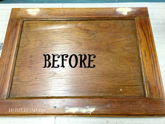Vintage Cabinet Door Serving Tray .homeroad.net & Vintage Cabinet Door Serving Tray | Homeroad