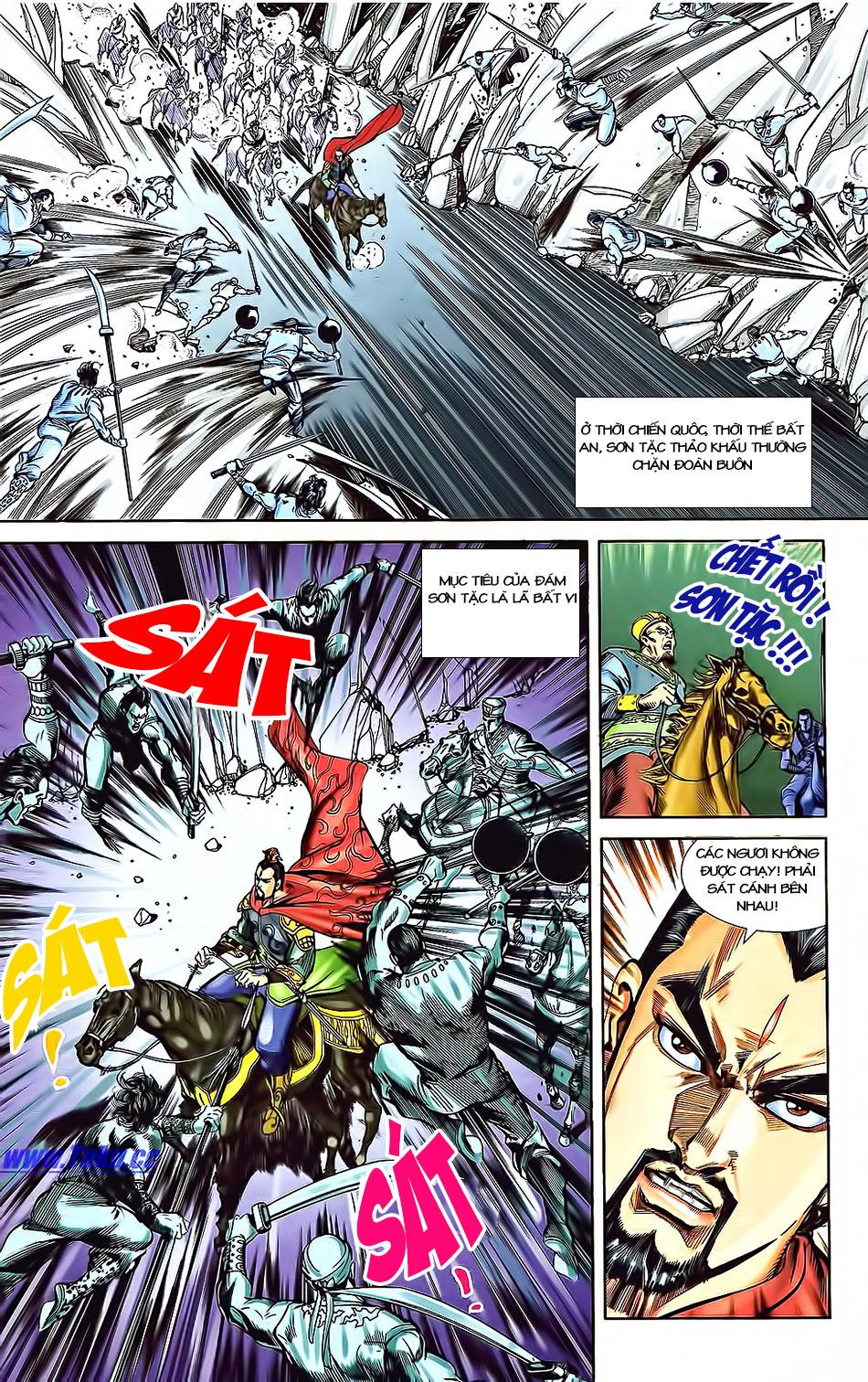 Tần Vương Doanh Chính chapter 3 trang 12