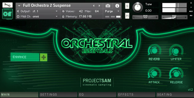 ProjectSAM - Orchestral Essentials 1 KONTAKT Library