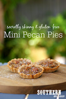 Healthy Mini Pecan Pie Recipe Gluten Free