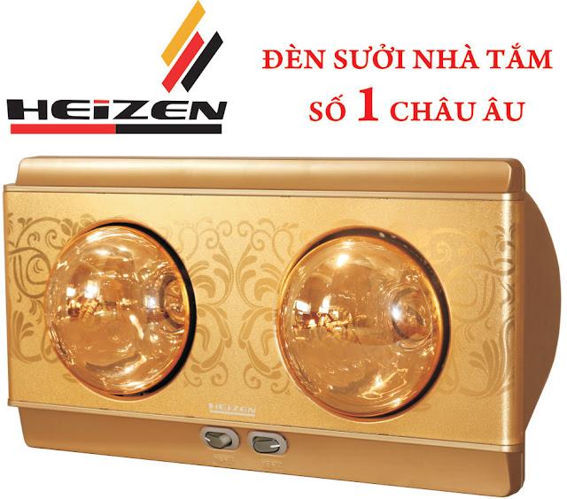 Đại lý đèn sưởi nhà tắm 2 bóng tại Nam Định - 150199