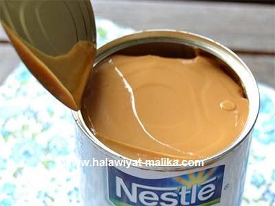 صابلي الشوكولاتة محشي بالكراميل