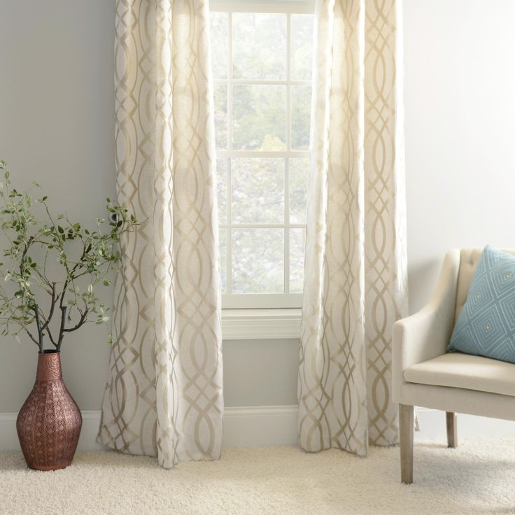 How To Make Door Panel Curtains Drapes Drawstring Easy Eyelets In