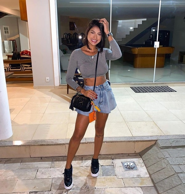 look estiloso com short jeans gode
