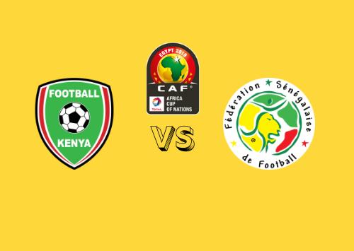 Kenia vs Senegal  Resumen