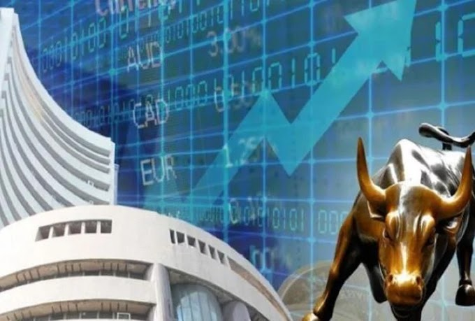 National Stock Exchange's Nifty closed at 12,329.55 after gaining 72.75 points