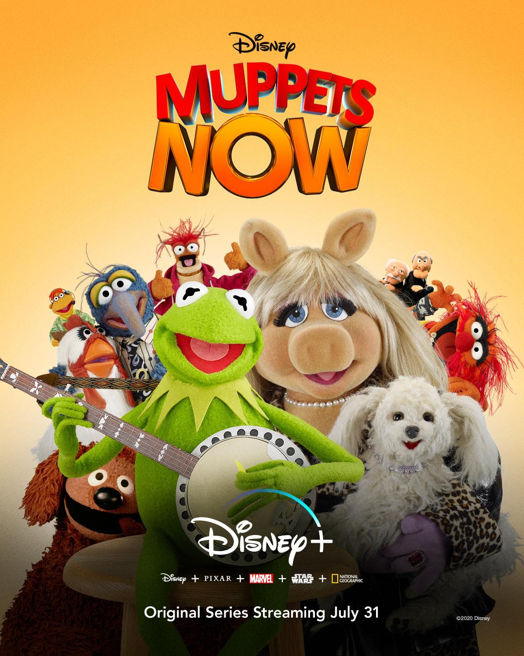 muppety 2020 disney+ recenzja kermit piggy