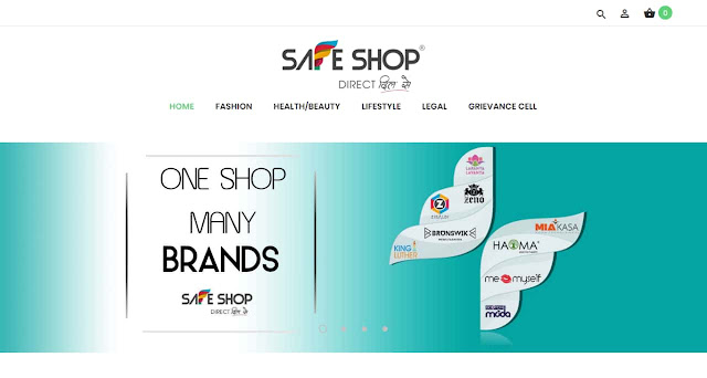 Information about Official site of Safe shop India