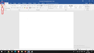 mengkompres file PDF menggunakan Word