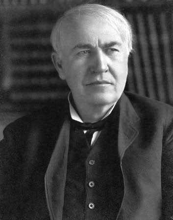 Scientist Thomas Edison