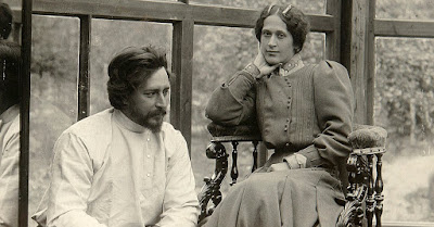 Леонид Андреев с первой женой Александрой Велигорской, спасшей его от сексоголизма и алкоголизма