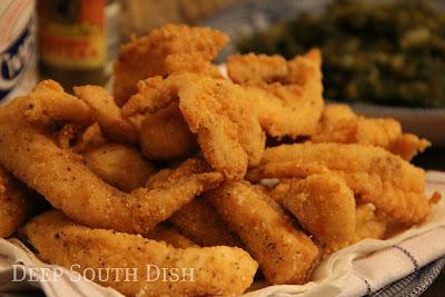 Deep South Dish Southern Fried Catfish