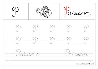 les 26 lettres de l'alphabet français