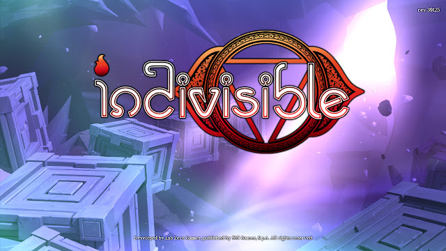 Indivisible title screen logo