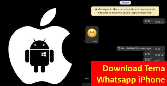 Download Tema Whatsapp iPhone