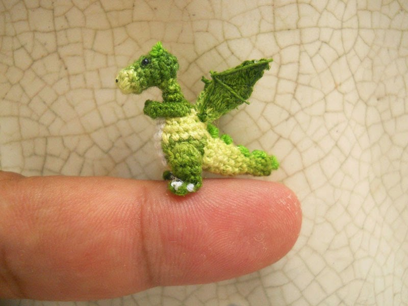 adorable tiny miniature crochet animals su ami-4