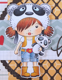 Heather's Hobbie Haven - Big Panda Marci Card Kit