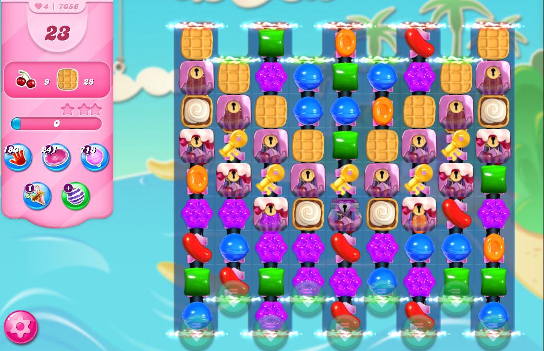 Candy Crush Saga level 7056