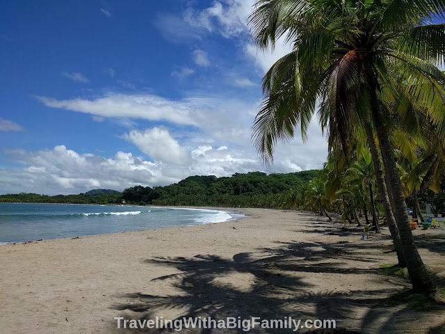 Itinerary for a Big Family at a Beach Town in Costa Rica