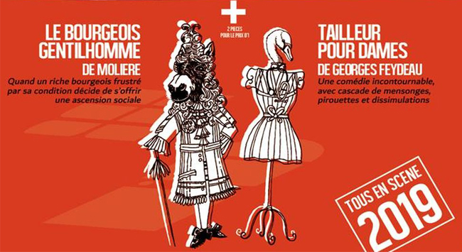 Bourgeois Gentilhomme and Tailleur Pour Dames