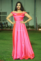 Actress Pujita Ponnada in beautiful red dress at Darshakudu music launch ~ Celebrities Galleries 027.JPG