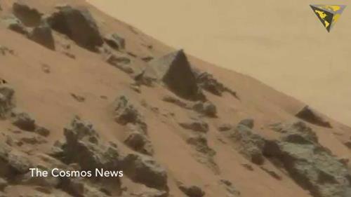 """""""Công trình nhân tạo"""" và """"dấu vết sự sống"""" trên Sao Hỏa: Nền văn minh tiên tiến từng cư ngụ ở đây?"""