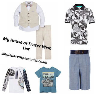 House of Fraser Summer Kids Range