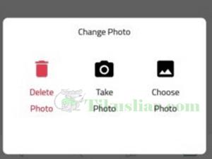 Cara  Mengganti Foto Profil Sarahah