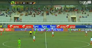 اهداف مباراة الجزائر وسيشل 2-0 تعليق حفيظ دراجي HD