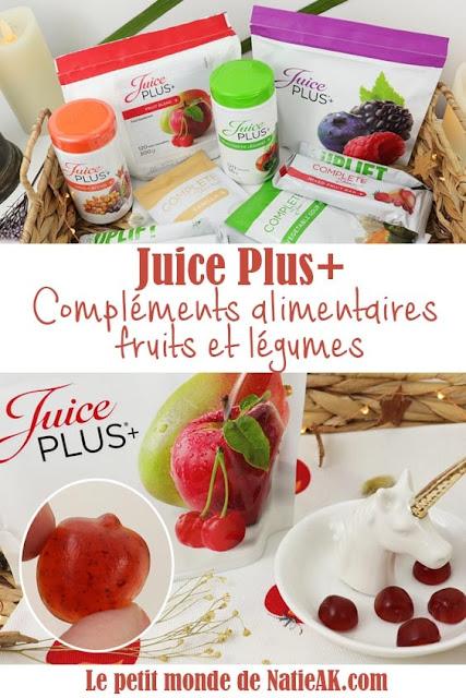 avis sur les compléments alimentaires Juice plus
