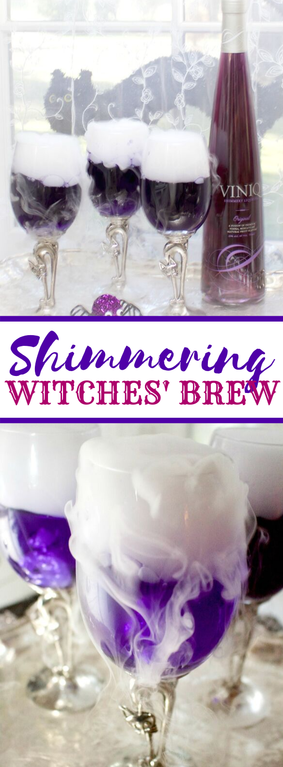 Shimmering Witches' Brew #drinks #cocktails