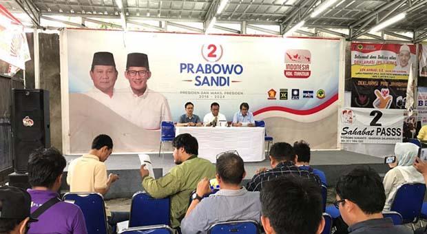 Sekretariat Nasional Prabowo-Sandi Tentang DPT Pemilu 2019