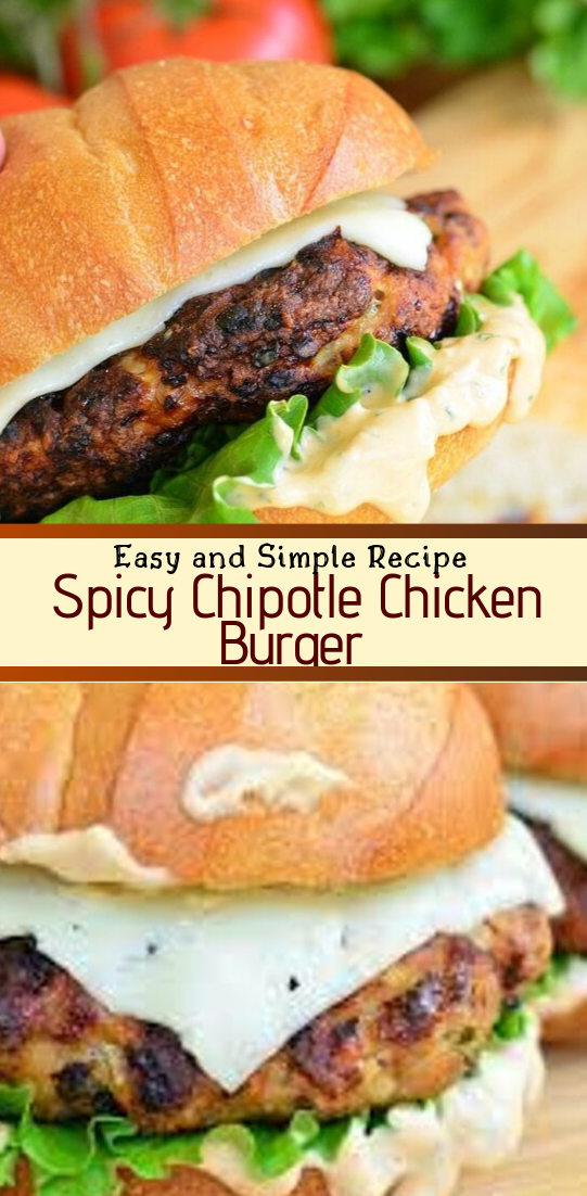 Spicy Chipotle Chicken Burger #dinnerrecipe #food #amazingrecipe #easyrecipe