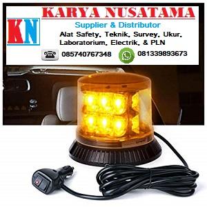 Jual Lampu Rotary Emergency Strobo Light Amber LED-12 di Kalimantan