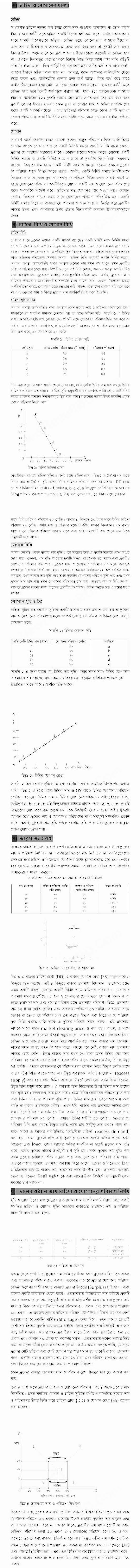 HSC 4th Week Economics Assignment Answer 2021