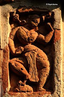 bishnupur temple,terracotta art,terracotta temples,shyamrai temple,clay temple,brick temple,clay tile