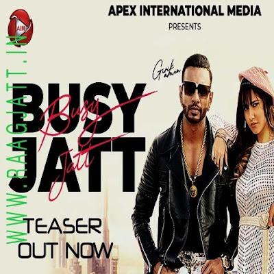 Busy Jatt by Girik Aman lyrics