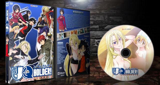 UQ Holder! Mahou Sensei Negima! 2 | Cover DVD |