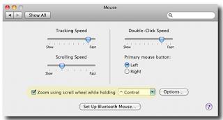 Cara Memperbesar dan Memperkecil di Mac