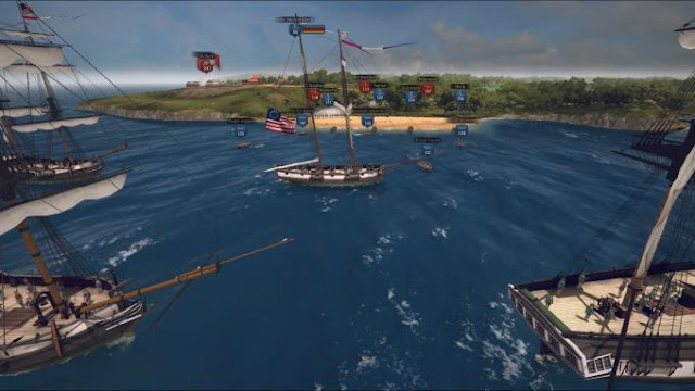 Ultimate Admiral Age of Sail is a tactical strategy that takes place during the naval campaigns of the Napoleonic and American revolutionary wars.