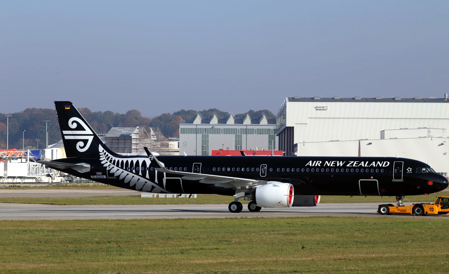 Air New Zealand Airbus A321neo Dec 2018 Delivery