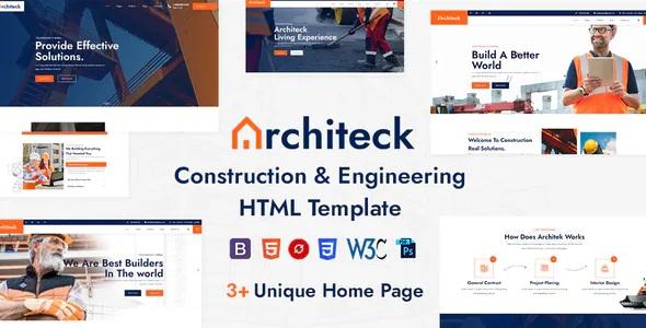 Best Construction HTML5 Template