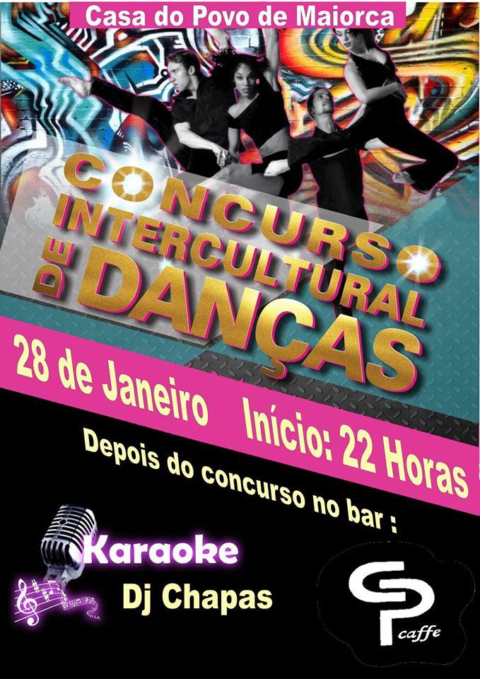 Concurso Intercultural de Danças na Casa do Povo de Maiorca