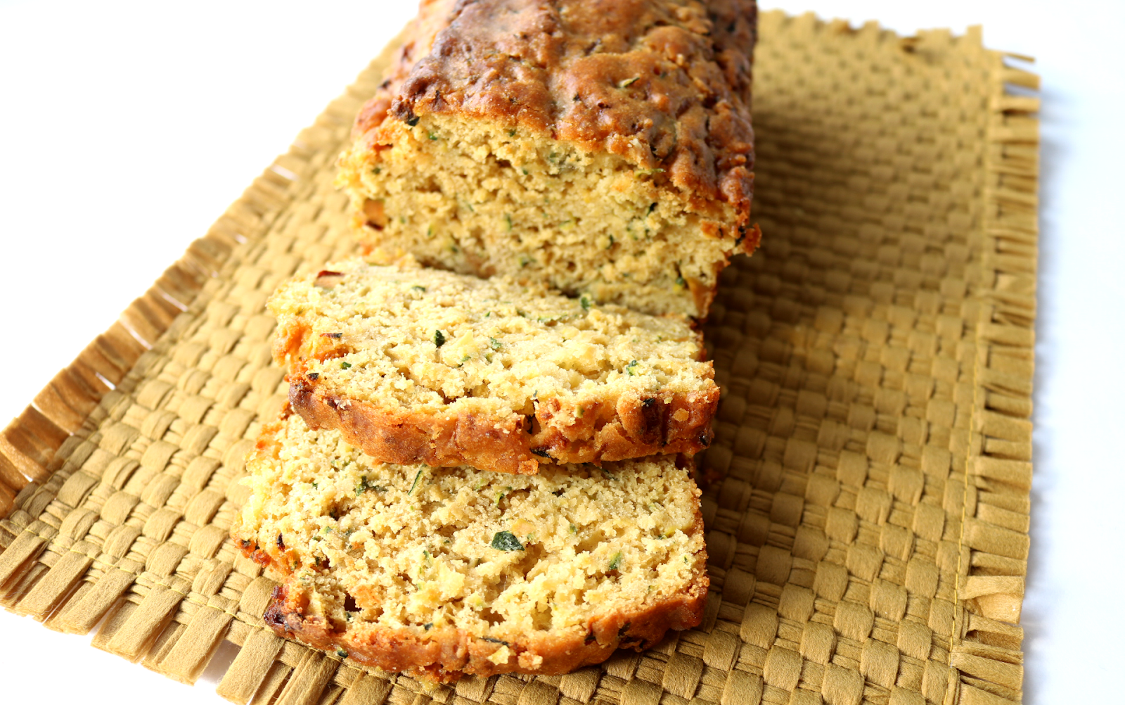 Courgette & Lemon Cake (Vegetarian recipe)