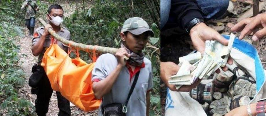 Hebob! Temuan Mayat Perempuan Dikerumuni Lalat di Tengah Hutan, Bersamaan Dengan Uang Sekarung