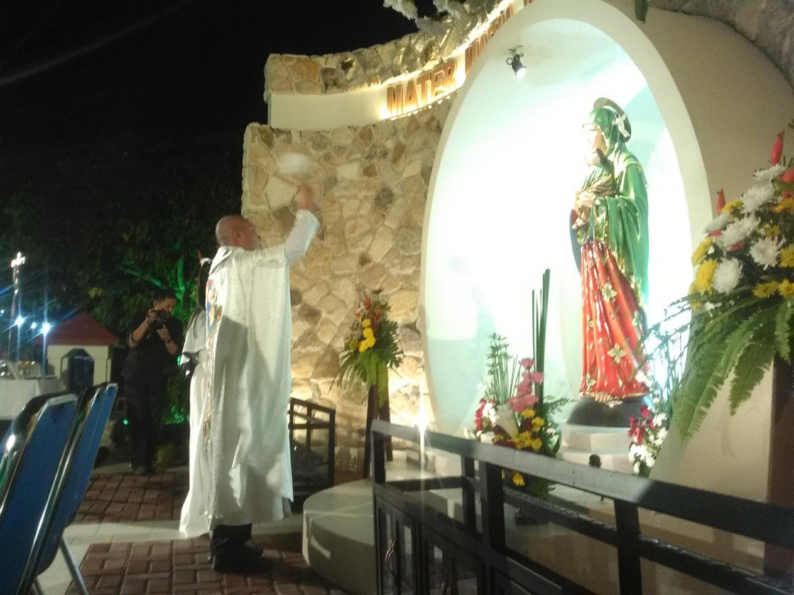 Misa Pemberkatan Taman Doa Bunda Maria Penolong Abadi Paroki St Alfonsus Nandan