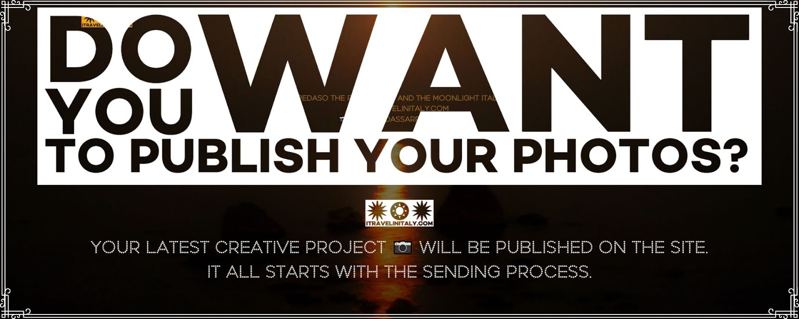 Do you want to publish your photos?