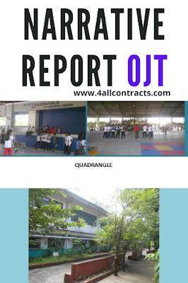 A Narrative Report of Ojt - word
