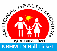 NRHM TN Hall Ticket